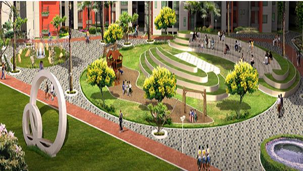 1375 sqft, 3 bhk Apartment in BCC Bharat City Indraprastha Yojna, Ghaziabad at Rs. 38.2300 Lacs