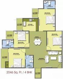 2046 sqft, 4 bhk Apartment in MR Delhi 99 Indraprastha Yojna, Ghaziabad at Rs. 54.2190 Lacs