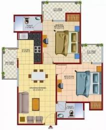 850 sqft, 2 bhk Apartment in Techman Moti Residency Raj Nagar Extension, Ghaziabad at Rs. 8000