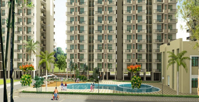 1310 sqft, 2 bhk Apartment in K World Srishti Raj Nagar Extension, Ghaziabad at Rs. 40.6155 Lacs