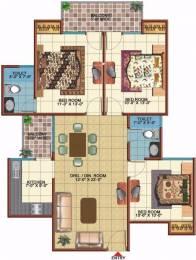 1300 sqft, 3 bhk Apartment in Vidur Brave Hearts 1 Raj Nagar Extension, Ghaziabad at Rs. 39.0010 Lacs