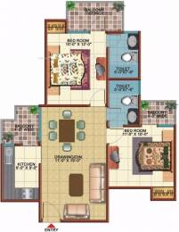 1050 sqft, 2 bhk Apartment in Vidur Brave Hearts 1 Raj Nagar Extension, Ghaziabad at Rs. 31.5088 Lacs