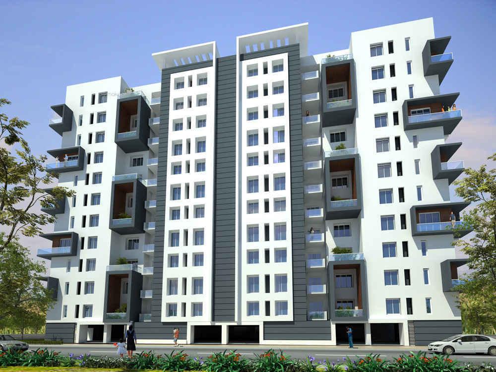 565 sq ft 1BHK 1BHK+1T (565 sq ft) + Study Room Property By Vijay Estate Agency In Om Sai Chaya CHS, Sector-23 Juinagar