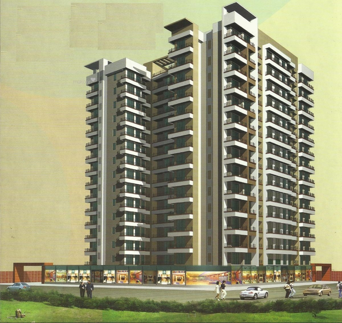550 sq ft 1BHK 1BHK+1T (550 sq ft) + Study Room Property By Vijay Estate Agency In Project, Kharghar