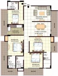 2224 sqft, 4 bhk Apartment in Rudra Twin Towers Butler Colony, Lucknow at Rs. 50000