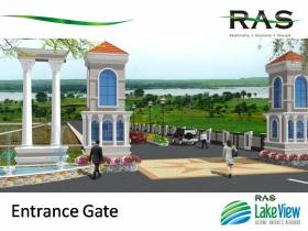1,200 sq ft 3 BHK + 3T Villa in RAS Group LakeView