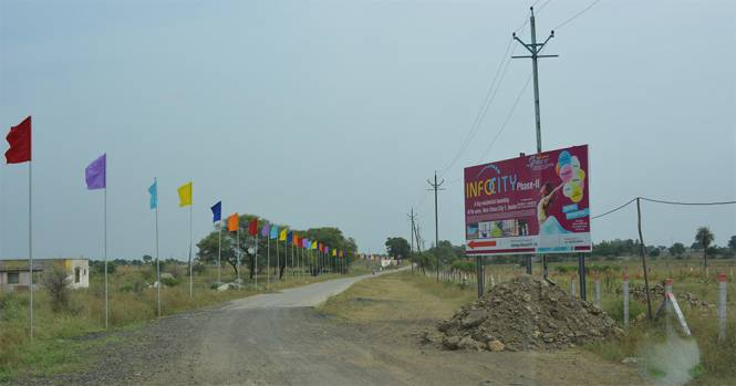 3200 sqft, Plot in Builder INfocity phase 2 AB Bypass Road, Indore at Rs. 35.2000 Lacs