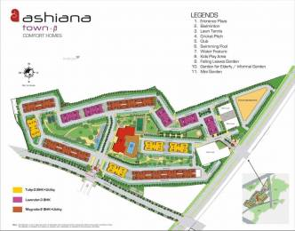1165 sqft, 2 bhk Apartment in Ashiana Ashiana Town Sector 39 Bhiwadi, Bhiwadi at Rs. 30.0000 Lacs