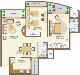 1445 sqft, 2 bhk Apartment in MVL Coral Sector 18 Bhiwadi, Bhiwadi at Rs. 32.0000 Lacs