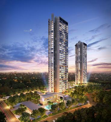 1283 sqft, 2 bhk Apartment in Kalpataru Crest Bhandup West, Mumbai at Rs. 1.5600 Cr