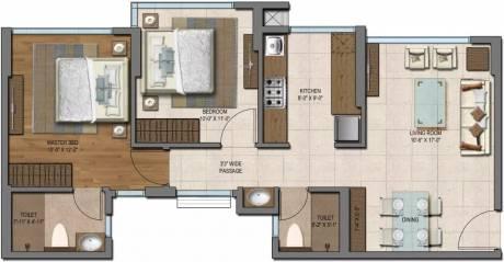 815 sqft, 2 bhk Apartment in Wadhwa Promenade The Address Ghatkopar West, Mumbai at Rs. 1.5000 Cr