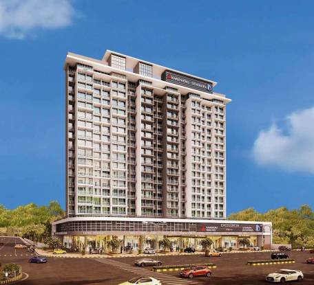 1100 sqft, 2 bhk Apartment in Kamdhenu Lifespaces Excelencia Dronagiri, Mumbai at Rs. 42.0000 Lacs