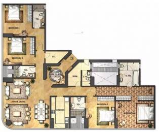 3211 sqft, 4 bhk Apartment in Indiabulls Blu Worli, Mumbai at Rs. 8.5000 Cr