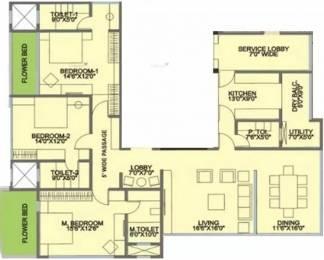 2100 sqft, 3 bhk Apartment in Rohan Lifescapes Aquino Prabhadevi, Mumbai at Rs. 5.2500 Cr