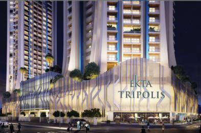 1188 sqft, 2 bhk Apartment in Ekta Tripolis Goregaon West, Mumbai at Rs. 2.3400 Cr