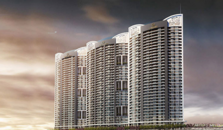 1240 sqft, 2 bhk Apartment in Paradise Sai World Empire Kharghar, Mumbai at Rs. 1.0000 Cr