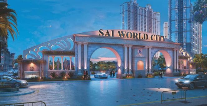 2680 sqft, 4 bhk Apartment in Paradise Sai World City Panvel, Mumbai at Rs. 1.3800 Cr