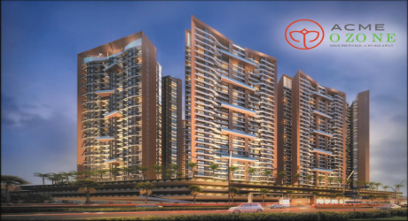 1019 sqft, 2 bhk Apartment in ACME Ozone Thane West, Mumbai at Rs. 1.0900 Cr