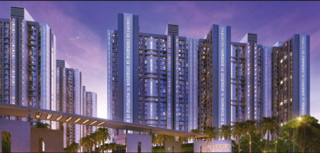 1080 sqft, 2 bhk Apartment in Builder lodha group codename amara kolshet road Kolshet Road Thane West, Mumbai at Rs. 1.0200 Cr