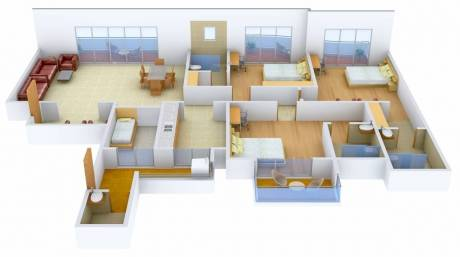 2400 sqft, 3 bhk Apartment in ATS Casa Espana Apartment Sector 121 Mohali, Mohali at Rs. 1.2000 Cr