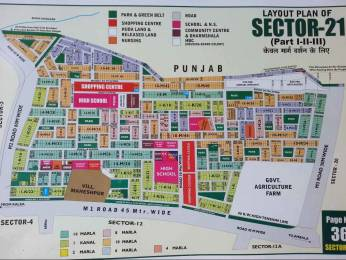2250 sqft, Plot in Builder RESIDENTIAL HUDA PLOT Sector 21 Road, Panchkula at Rs. 1.6500 Cr