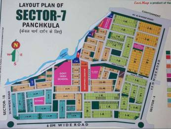 2250 sqft, Plot in Builder RESIDENTIAL HUDA PLOT sector 7, Panchkula at Rs. 2.4000 Cr