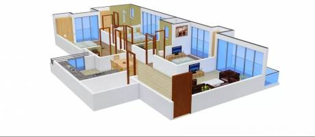 1726 sqft, 3 bhk Apartment in Griha Griha Pravesh Sector 77, Noida at Rs. 22500