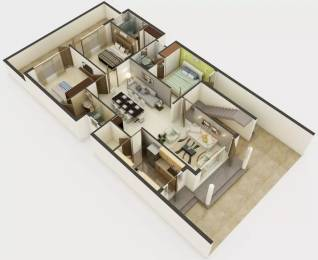 1750 sqft, 3 bhk Apartment in TDI Connaught Residency Sector 74 A, Mohali at Rs. 80.0000 Lacs