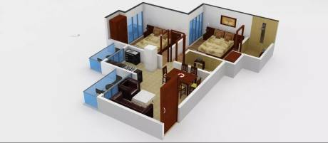 950 sqft, 2 bhk Apartment in Prateek Laurel Sector 120, Noida at Rs. 50.0000 Lacs