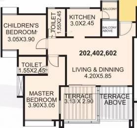 1143 sqft, 2 bhk Apartment in Eisha Zenith Tathawade, Pune at Rs. 68.0000 Lacs