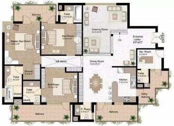 2311 sqft, 3 bhk Apartment in Raheja Atlantis Sector 31, Gurgaon at Rs. 50000