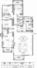 3341 sqft, 4 bhk Apartment in M3M Merlin Sector 67, Gurgaon at Rs. 50000