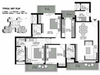1835 sqft, 3 bhk Apartment in Lotus Arena Sector 79, Noida at Rs. 95.0000 Lacs