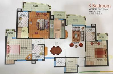 1740 sqft, 3 bhk Apartment in Builder Project Kundli, Sonepat at Rs. 50.0000 Lacs