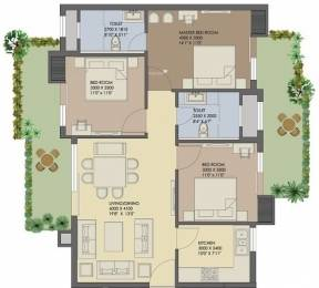 1702 sqft, 3 bhk Apartment in Agrante Beethoven 8 Sector 107, Gurgaon at Rs. 85.0000 Lacs