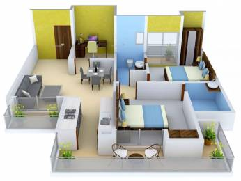 1325 sqft, 2 bhk Apartment in Ace City Sector 1 Noida Extension, Greater Noida at Rs. 50.0000 Lacs