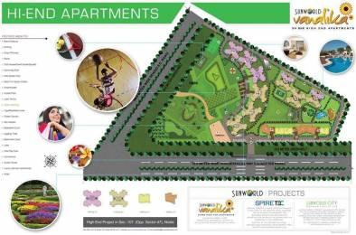 3400 sqft, 4 bhk Apartment in Sunworld Vanalika Sector 107, Noida at Rs. 1.9000 Cr