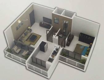 651 sqft, 1 bhk Apartment in Radiant Ravi Rachana Kamothe, Mumbai at Rs. 45.5700 Lacs