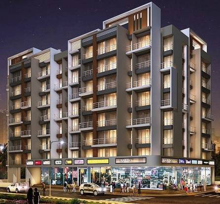 655 sqft, 1 bhk Apartment in Amrut Sai Amrut Paradise Karanjade, Mumbai at Rs. 42.0000 Lacs