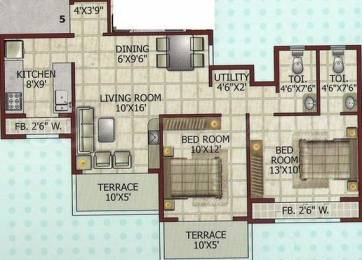 1200 sqft, 2 bhk Apartment in Chhadva Chhadva Galaxy Kamothe, Mumbai at Rs. 79.2000 Lacs