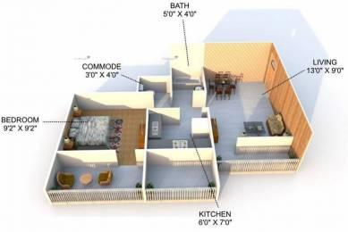 600 sqft, 1 bhk Apartment in KD Kalash Karanjade, Mumbai at Rs. 34.5000 Lacs