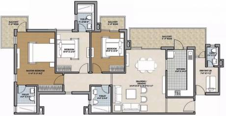1935 sqft, 3 bhk Apartment in Ansal Heights Sector 92, Gurgaon at Rs. 68.0000 Lacs