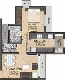 668 sqft, 1 bhk Apartment in Rustomjee Meridian Kandivali West, Mumbai at Rs. 1.0500 Cr