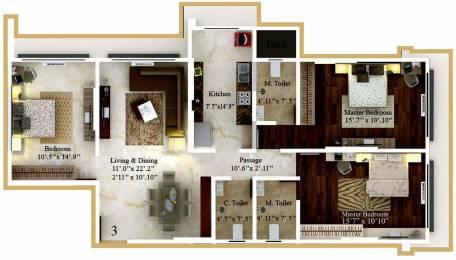 1080 sqft, 2 bhk Apartment in Kaustubh Rajendra Nagar Shree Ganesh Chs Ltd Borivali East, Mumbai at Rs. 2.1000 Cr