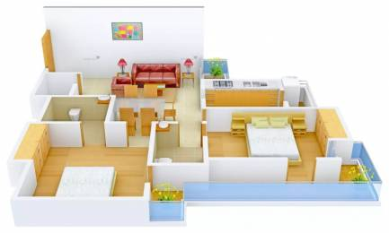 1250 sqft, 2 bhk Apartment in Gardenia Glamour Sector 4 Vasundhara, Ghaziabad at Rs. 58.0000 Lacs