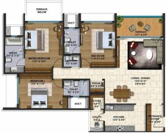 1980 sqft, 3 bhk Apartment in Lodha Belmondo Gahunje, Pune at Rs. 32000