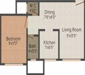 470 sqft, 1 bhk Apartment in Mauli Omkar Malad East, Mumbai at Rs. 75.0000 Lacs