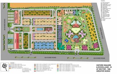890 sqft, 2 bhk Apartment in Supertech Eco Village II Noida Phase II, Noida at Rs. 27.0000 Lacs