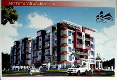 1328 sqft, 3 bhk Apartment in Builder green home Sachal Path VIP Road Bylane Number 1, Guwahati at Rs. 55.0000 Lacs