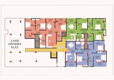 1313 sqft, 3 bhk Apartment in Builder Rajdhany Arawhon Bhetapara Ghoramara Road, Guwahati at Rs. 46.0000 Lacs